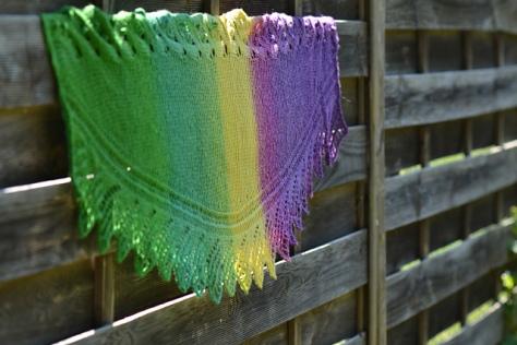 Confituralapassion chale tricot